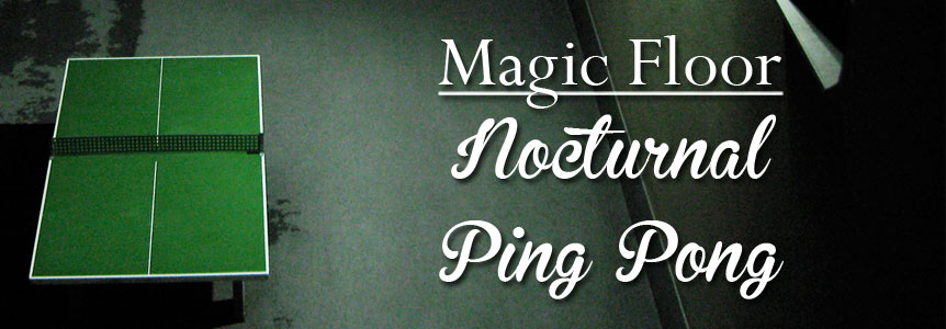 DQ015 : Magic Floor - Nocturnal ping pong E.P